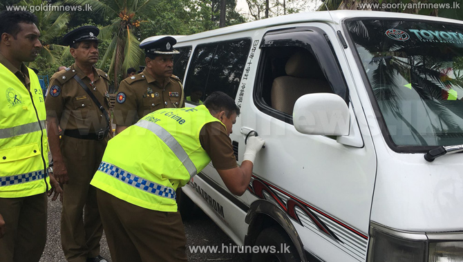 Kalutara+shooting%3A+White+van+used+by+suspects+found+in+Marogahahena+