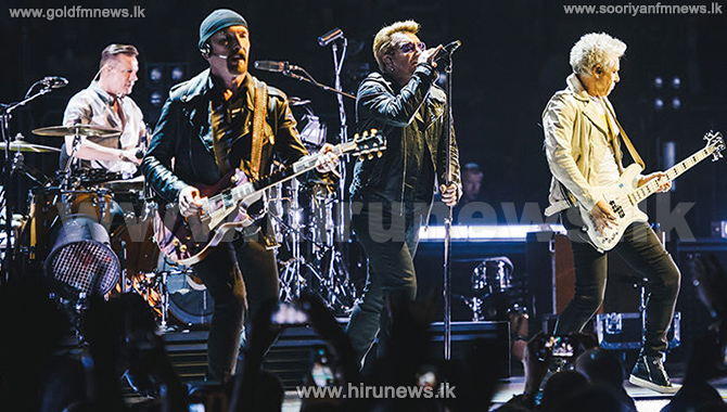 U2+Sued+For+Plagiarism+By+British+Singer-Songwriter+Over+%27The+Fly%27