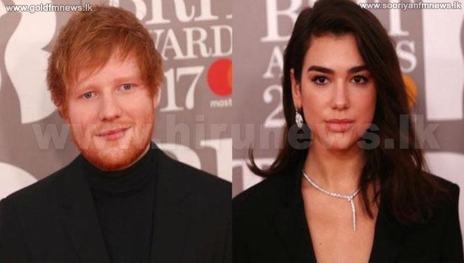 Ed+Sheeran+and+Dua+Lipa+lead+Brit+Award+nominations