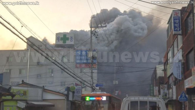 South+Korea+hospital+hit+by+deadly+fire