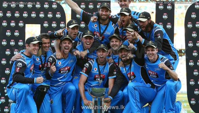 Adelaide+Strikers+wins+maiden+BBL+title