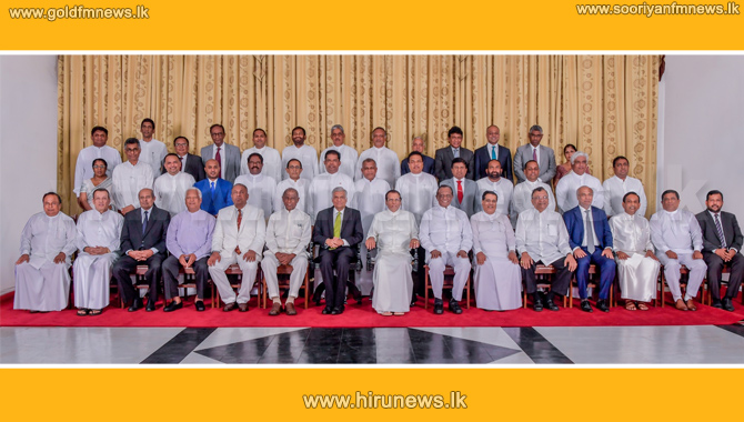 First+Cabinet+meeting+after+reshuffle%2C+today
