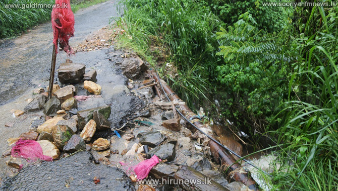 Minor+landslide+in+Hatton%2C+traffic+affected