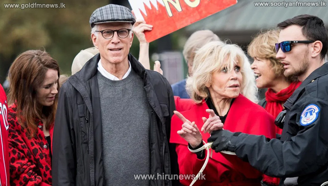 Jane+Fonda%2C+Ted+Danson+arrested+in+DC+for+protesting+climate+change