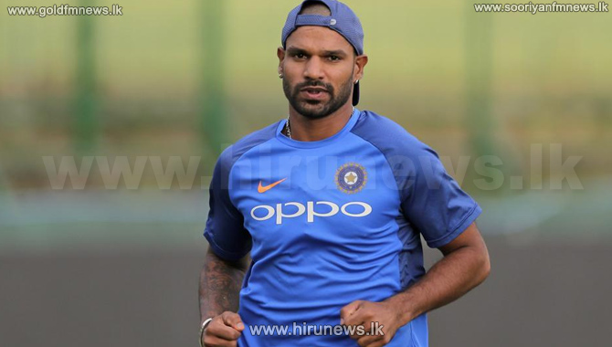 Injured+Dhawan+ruled+out+of+West+Indies+T20Is%3B+Samson+named+replacement