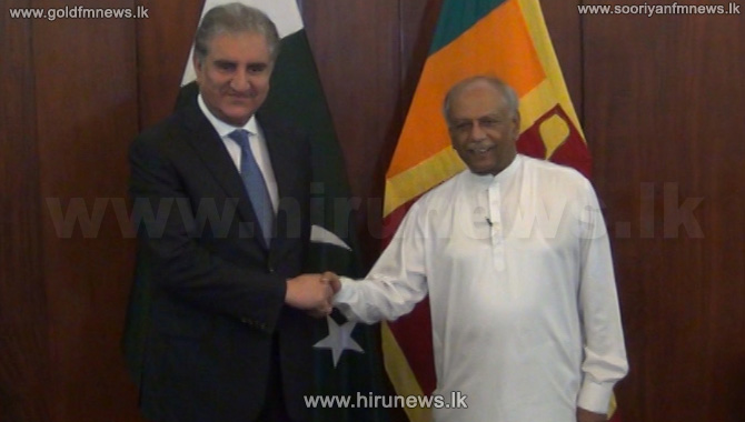 Meeting+between+Pakistan+Foreign+Minister+and+Minister+Dinesh+Gunewardena+++