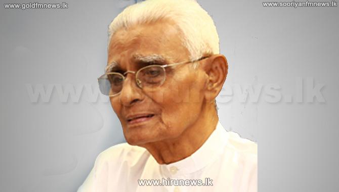 Professor+Winnie+Vitharana+passes+away