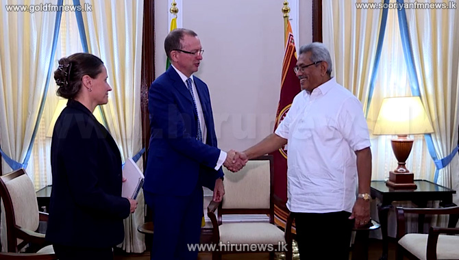 Meeting+between+the+President+and+the+Canadian+High+Commissioner+in+Sri+Lanka.
