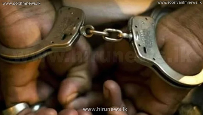 Four+suspects+arrested+in+Kalpitiya+with+10+kilos+of+gold+