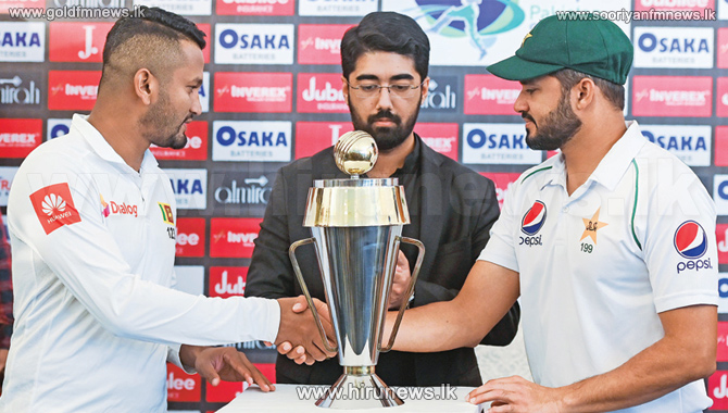 First+test+between+Sri+Lanka+and+Pakistan+today