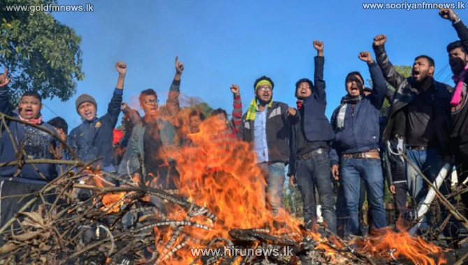 Fresh+anti-CAB+protests+erupt+in+Assam