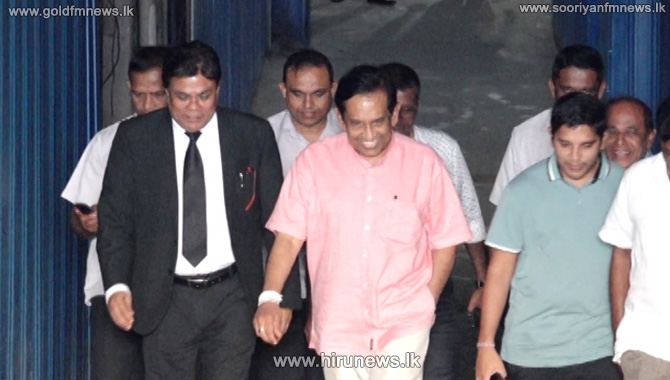 Rajitha+leaves+after+giving+a+statement+before+CID