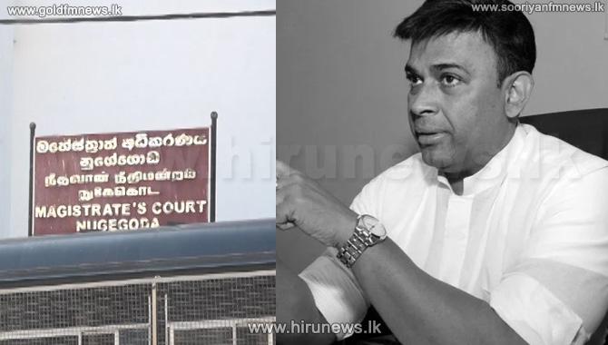Nugegoda+Magistrates+Court+issues+arrest+warrant+on+MP+Ranjan+Ramanayake