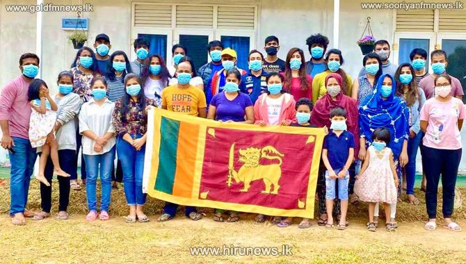 Sri+Lankan+students+who+arrived+from+Wuhan+celebrate+independence