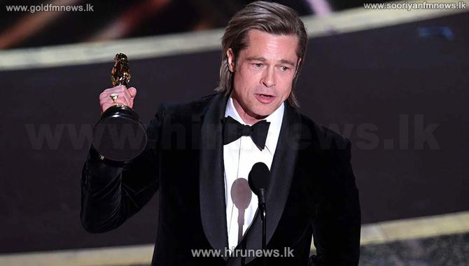 Brad+Pitt+wins+Oscar+for+best+supporting+actor