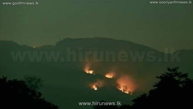 Hanthana+still+burning%3B+3+Police+Teams+deployed