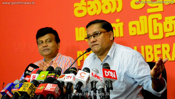 JVP+claims+UNP+party+supporters+are+disillusioned+with+the+ongoing+crisis+at+UNP