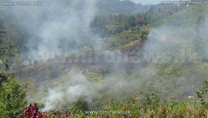 Fire+in+Bopattalawa+Mountain+Range+in+Nuwara+Eliya