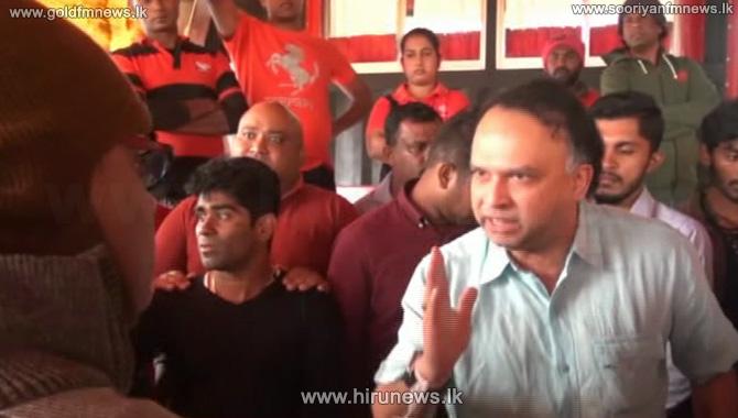 MP+Naveen+heats+up+Nuwara-Eliya