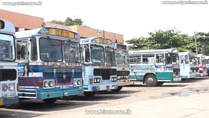 Private+bus+strike+on+route+163+Dehiwala+-+Battaramulla