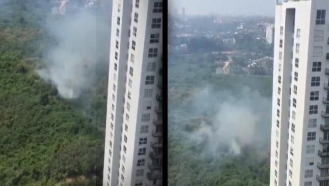 Fire+in+Rajagiriya+-+Sri+Lanka+Airforce+deployed+to+douse+fire