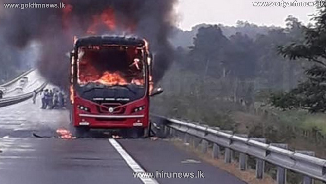 Bus+on+Southern+Expressway+catches+fire+