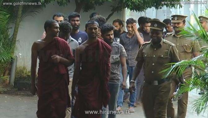 Twenty+university+students+who+were+arrested+have+been+remanded