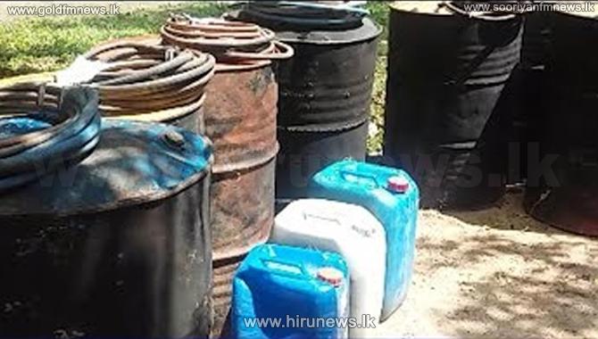 Four+large+scale+illegal+distilleries+in+Ambalangoda%2C+raided