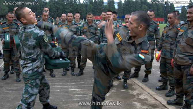 China to use martial art trainers after India border clash