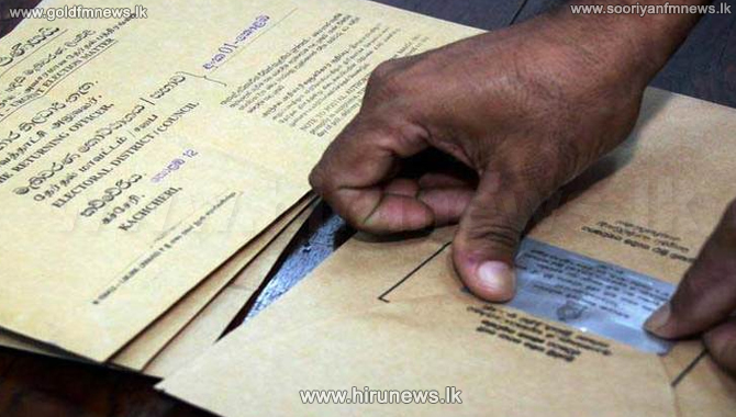 Postal+ballot+paper+distribution+from+today