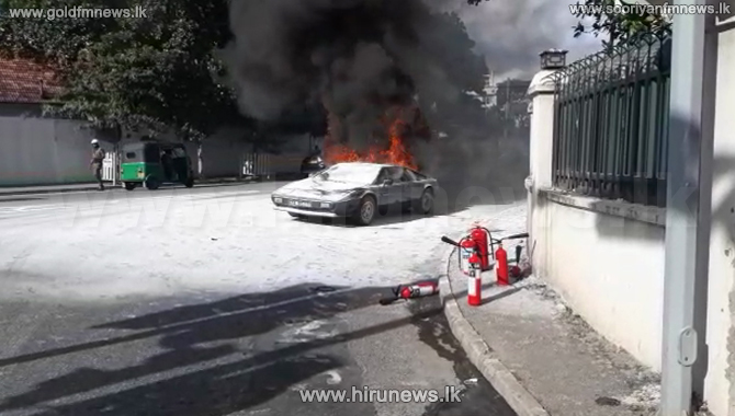 Car+on+fire+at+Ward+Place+%28Video%29