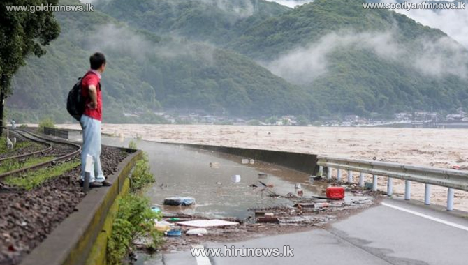 15 feared dead in Kyushu flooding