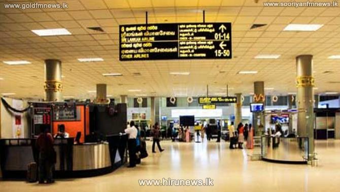 Katunayake+Airport+permits+five+visitors+per+passenger+in+the+lobby+area+