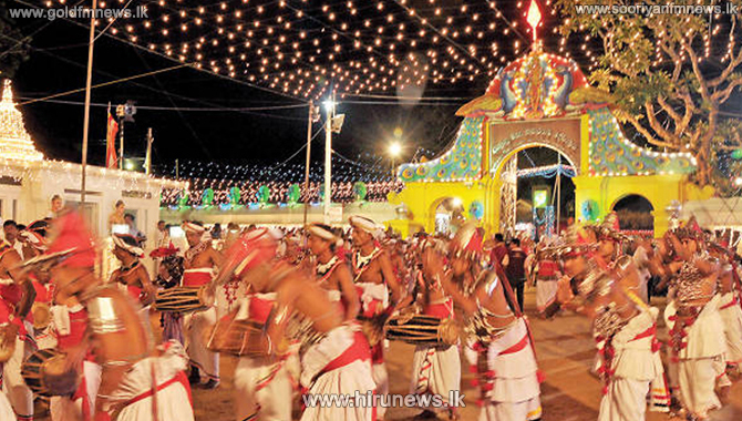 Kataragama+Esala+Perahera+without+the+public+participation+from+July+21+to+August+4