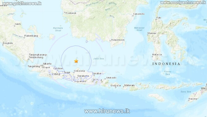 Earthquake measuring 6.6 hits Indonesia's main island