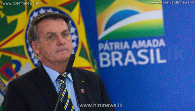 President Jair Bolsonaro, tested positive for the Covid-19