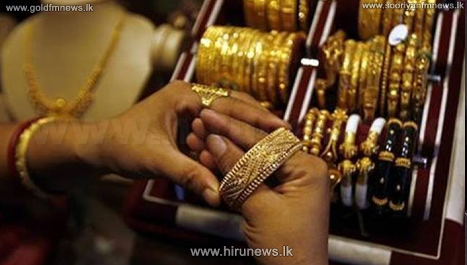 Local gold price exceeds Rs. 100,000 per sovereign