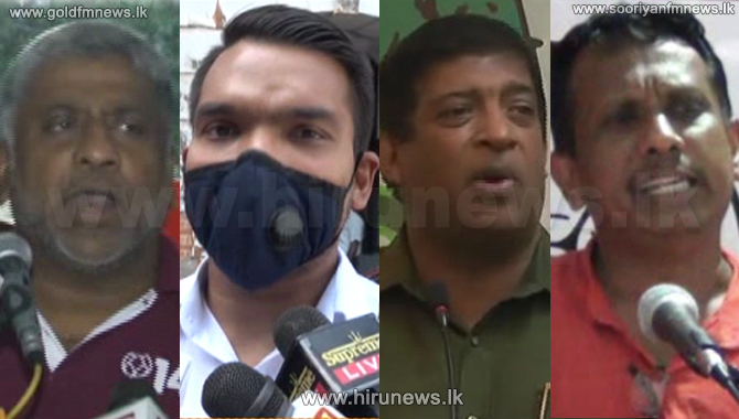 Politicians express their views (video)