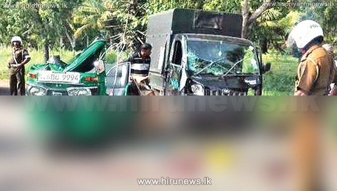 Deadly collision in Wellawaya - three killed