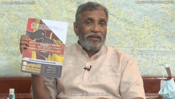 Gazette health guidelines on election - Mahinda Deshapriya