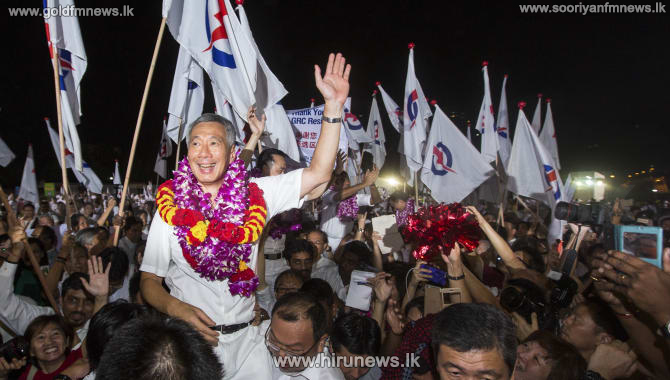 The ruling party in Singapore wins the general election
