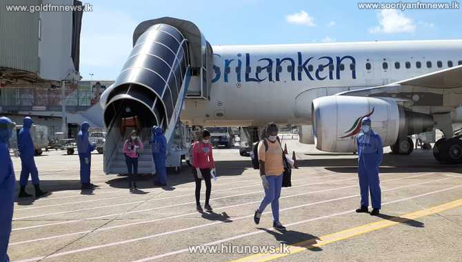 234 Sri Lankans arrive from Britain