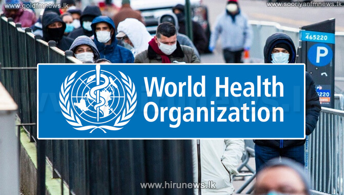 The+World+Health+Organization+says+coronavirus+can+be+controlled