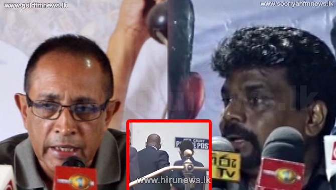 Rangajeewa's threat to the journalist is condemned by many parties
