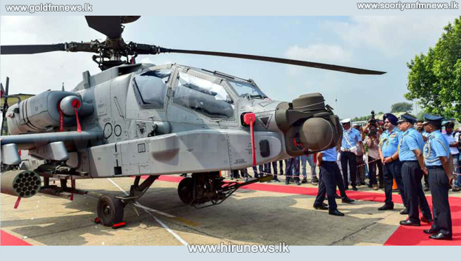 US fighter helicopters to India