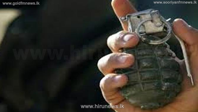 Hand grenade and mobile phone of Kosgoda Tharaka found from Kalu Malli's Sister's residence