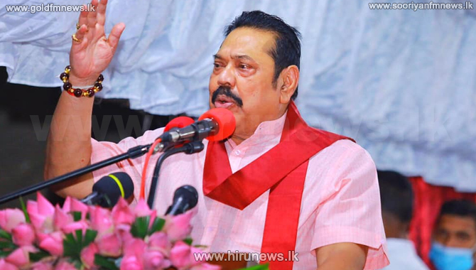 PM Mahinda Rajapaksa requests candidates to adhere to health guidelines