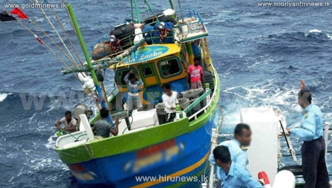 India rescues six Sri Lankan fishermen