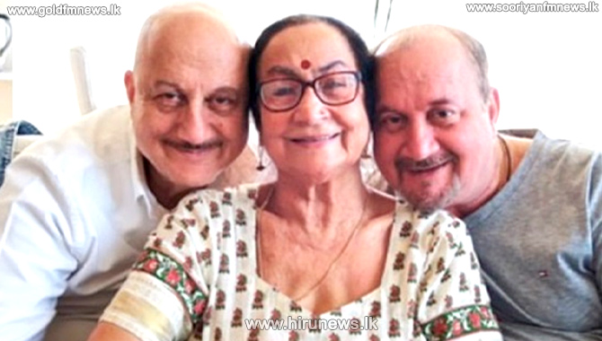 Mother and brother of veteran Indian actor Anupam Kher infected with Covid -19
