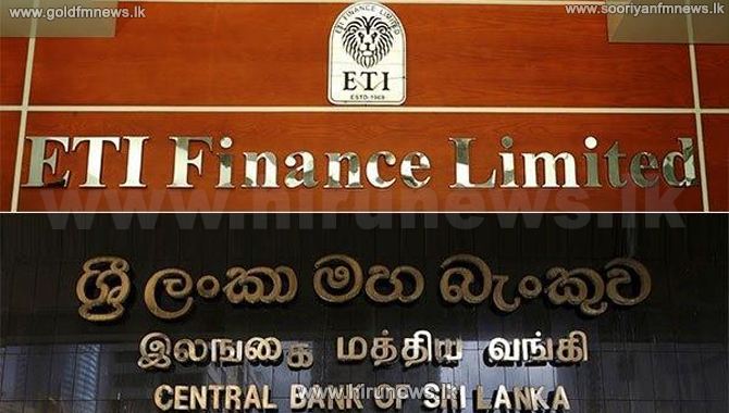 Swarnamahal Financial Services PLC & ETI Finance Ltd suspended - CBSL